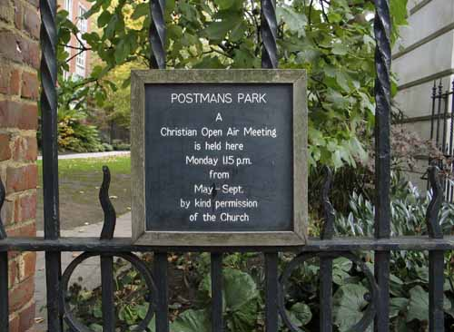 The Gate of Postmans Park in London  - JBLArts photography