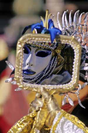Reflection of a carnival mask in Venice - JBLArts photography