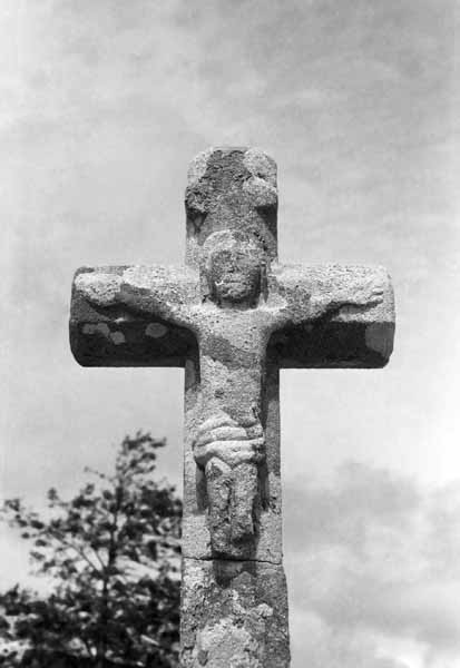 Celtic cross at Carnac, Brittany France  - JBLArts photography